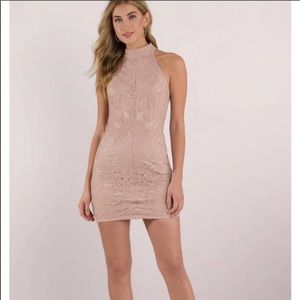 Loving you lace bodycon dress